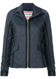 Hunter quilted zipped jacket