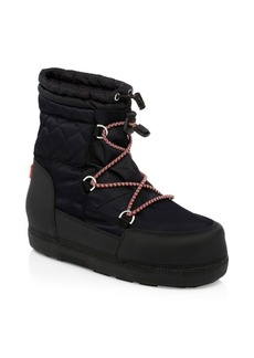 Hunter Short Original Quilt Snow Boots