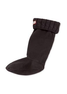 Hunter Six-Stitch Cable Boot Sock