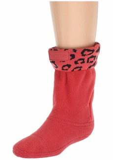 Hunter Snow Leopard Cuff Boot Sock (Toddler/Little Kid/Big Kid)