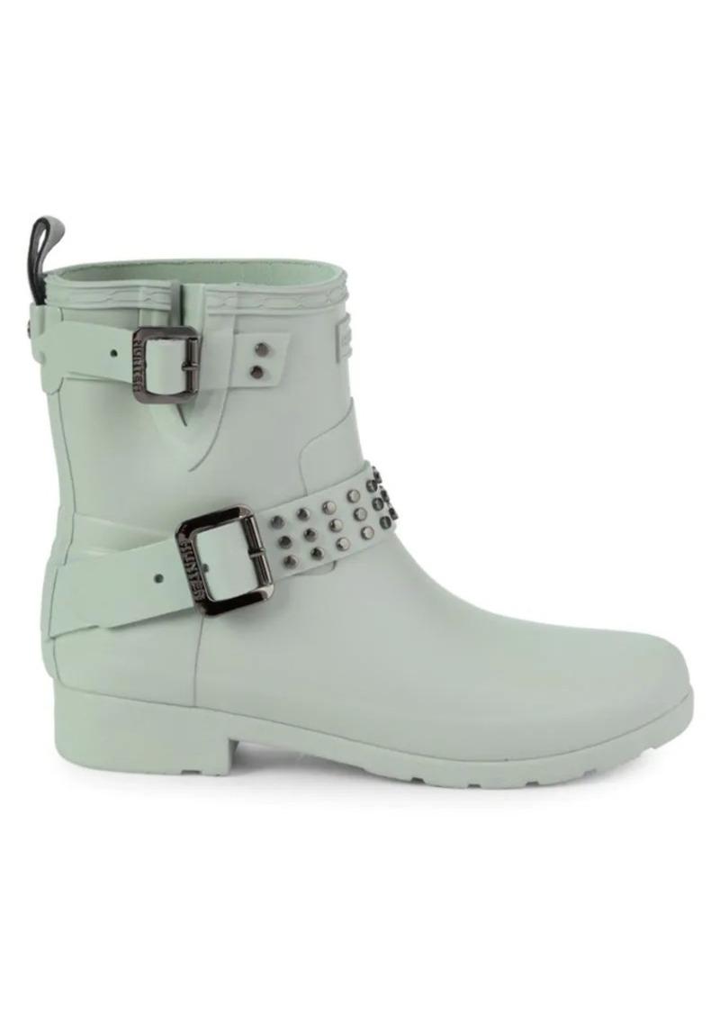 Hunter Studded Rubber Rain Boots