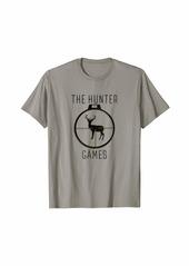 The Hunter Games Buck Mule Deer Hunting Dad Hunters Gift T-Shirt