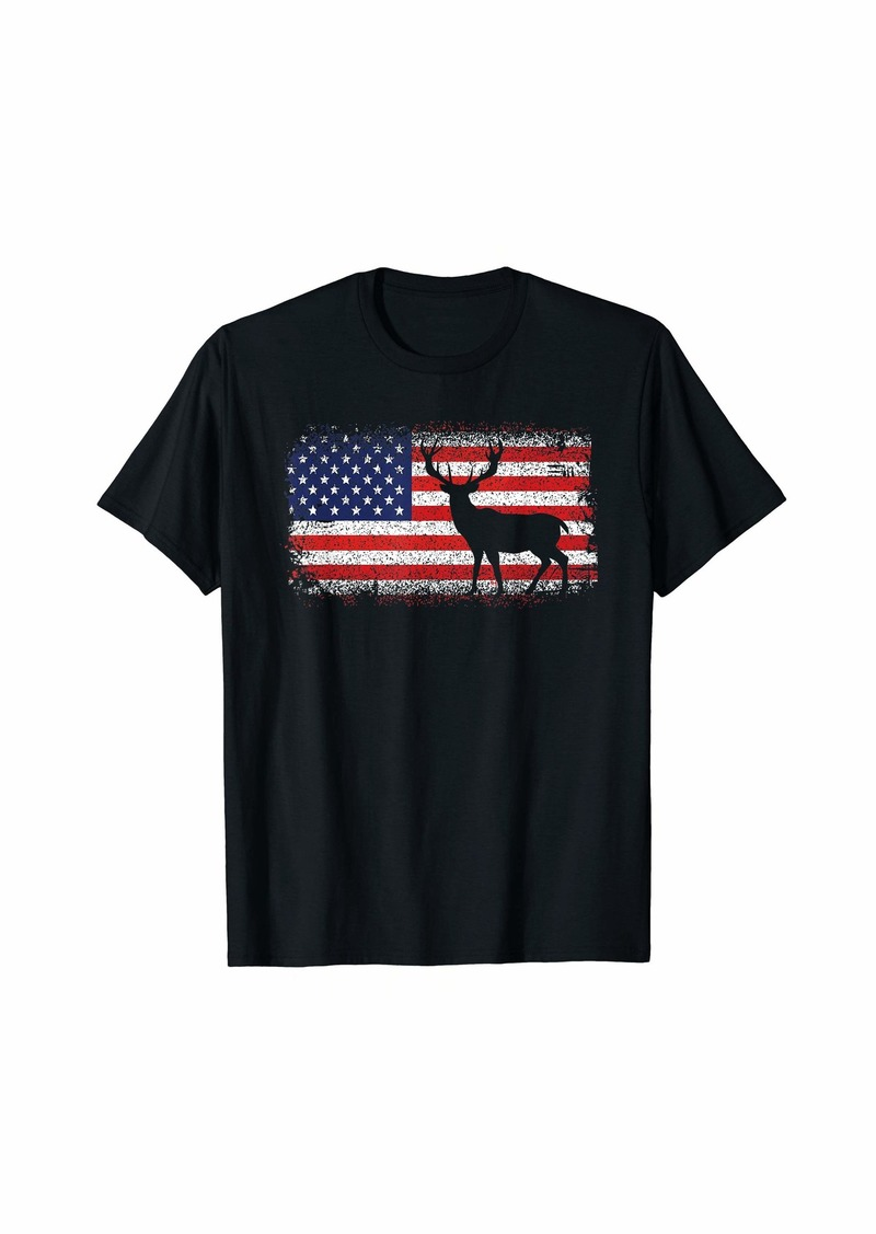 United States USA American Hunter t-shirt | Deer Hunting T-Shirt