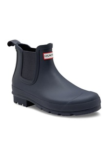 Hunter Waterproof Rubber Chelsea Boots