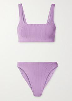 Hunza G Net Sustain Helena Nile Ribbed Bikini