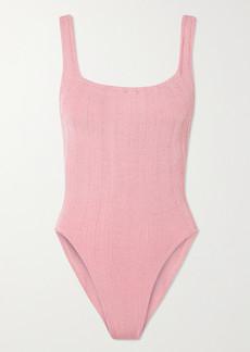 Hunza G Net Sustain Nile Ribbed Swimsuit
