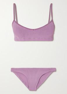 Hunza G Net Sustain Virginia Nile Ribbed Bikini