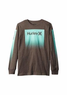 Hurley Ascention Long Sleeve Tee (Big Kids)
