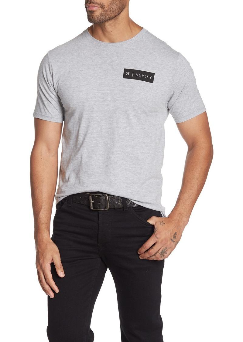 Hurley Badge Party Logo Print T-Shirt