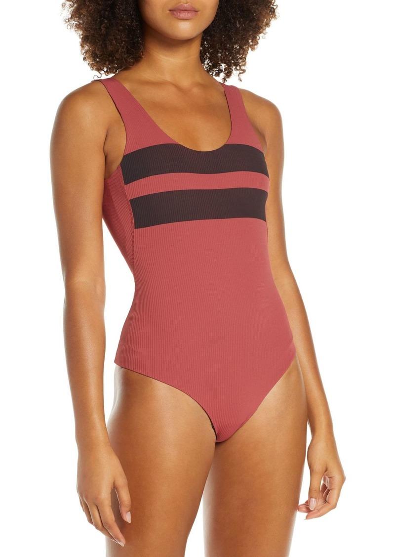 Hurley Block Party Quick Dry Swim Bodysuit