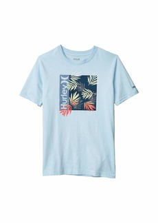 Hurley Box Print Fill Graphic T-Shirt (Big Kids)