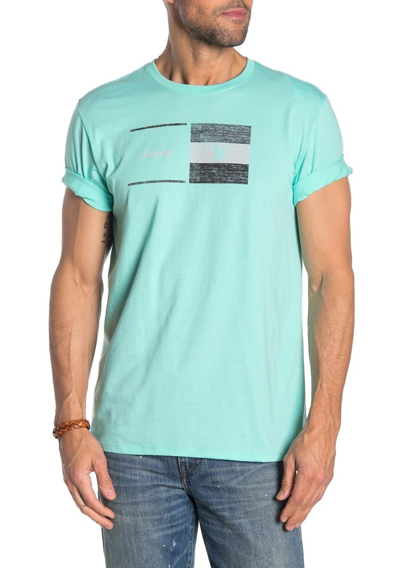 Hurley Breaking Point Front Graphic T-Shirt