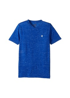 Hurley Cloud Slub Staple V-Neck Tee (Big Kids)