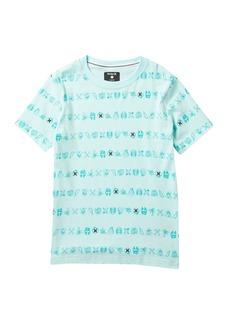 Hurley Creature Stripe T-Shirt (Big Boys)