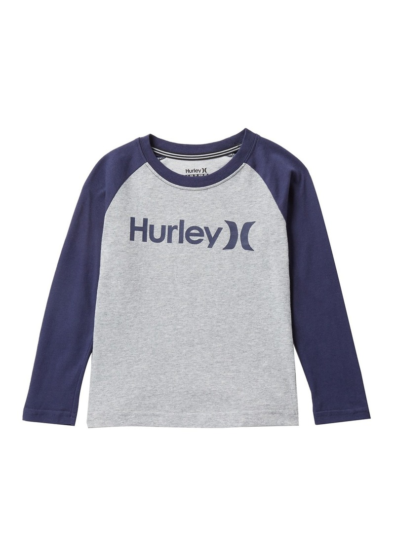 Hurley Dri-FIT One & Only Raglan Sleeve Tee (Little Boys)