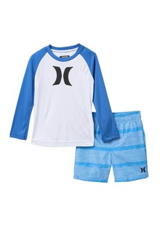 Hurley DRI-FIT Protection Icon Shirt & Shorts Set (Toddler Boys)