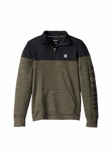 Hurley Dri-Fit Solar Fleece 1/2 Zip Color Block Pullover Sweater (Big Kids)