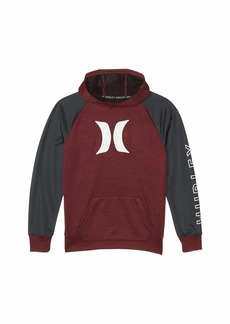 Hurley Dri-Fit Solar French Terry Icon Pullover Hoodie (Big Kids)