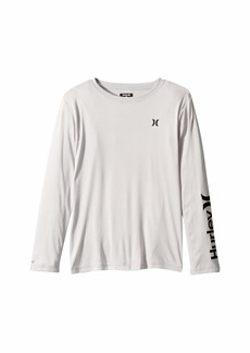 Hurley Dri-Fit UPF 50+ One and Only Graphic Long Sleeve T-Shirt (Big Kids)