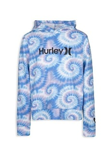 Hurley Girl's Tie-Dye French Terry Hoodie