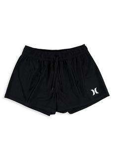 Hurley Girl's UPF 50+ Logo Swim Shorts