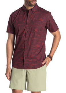 Hurley Gone Fishin Short Sleeve Shirt