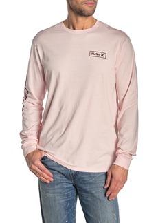 Hurley Graphic Sleeve Crew Neck T-Shirt