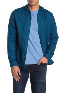 Hurley Hooded Classic Fit Shirt Jacket