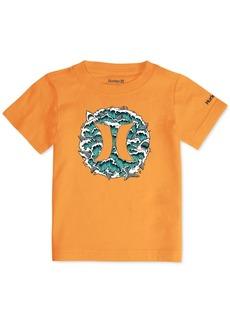 Hurley Big Boys Logo-Print Cotton T-Shirt