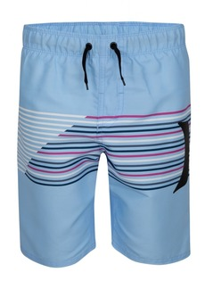 Hurley Big Boys Splash Striped Swim Suit