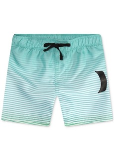 Hurley Big Boys Striped Swim Trunks