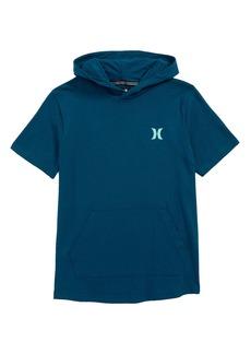 Hurley Bitmapped Logo Hooded T-Shirt (Big Boys)