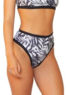 Hurley Block Party High Waist Bikini Bottoms