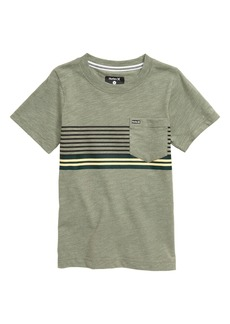 Hurley Block Stripe T-Shirt (Toddler Boys & Little Boys)