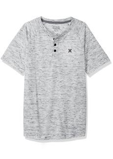 Hurley Boys' Big Henley T-Shirt  S