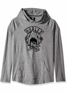 Hurley Boys' Little Long Sleeve Hooded Pullover