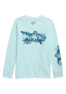 Hurley Brotanical Graphic Long Sleeve T-Shirt (Toddler Boys & Little Boys)
