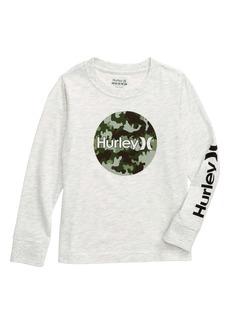 Hurley Camo Fill Long Sleeve T-Shirt (Toddler Boys & Little Boys)