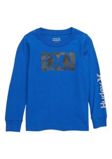 Hurley Camofill Reflective Graphic Long Sleeve T-Shirt (Big Boys)