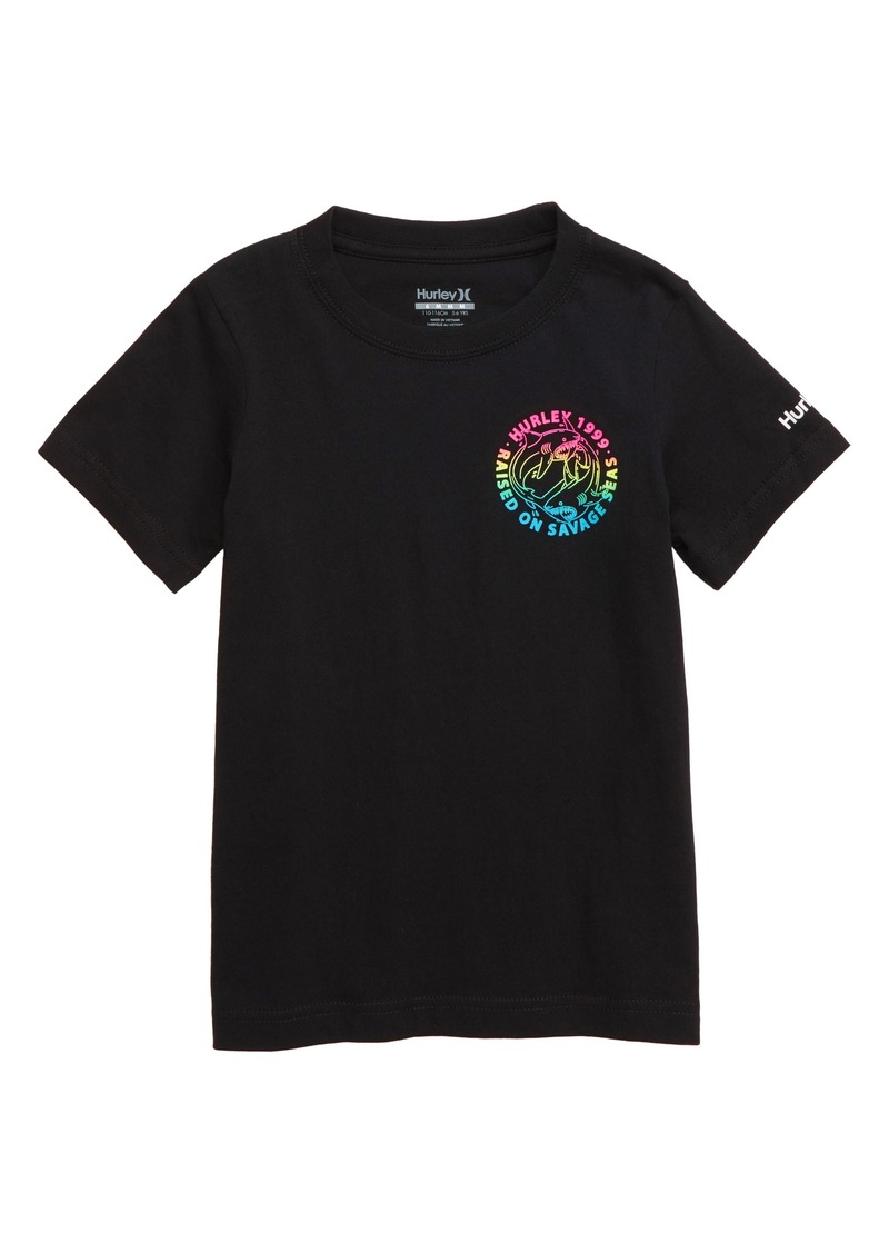 Hurley Circle Shark Graphic T-Shirt (Toddler Boys & Little Boys)
