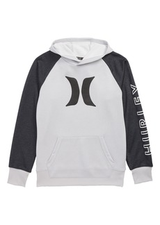Hurley Dri-FIT Solar Icon Logo Pullover Hoodie (Big Boys)