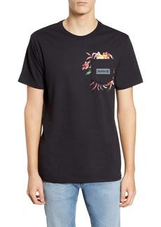 Hurley Fatcap Graphic Pocket T-Shirt