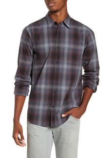 Hurley Grady Plaid Button-Up Shirt