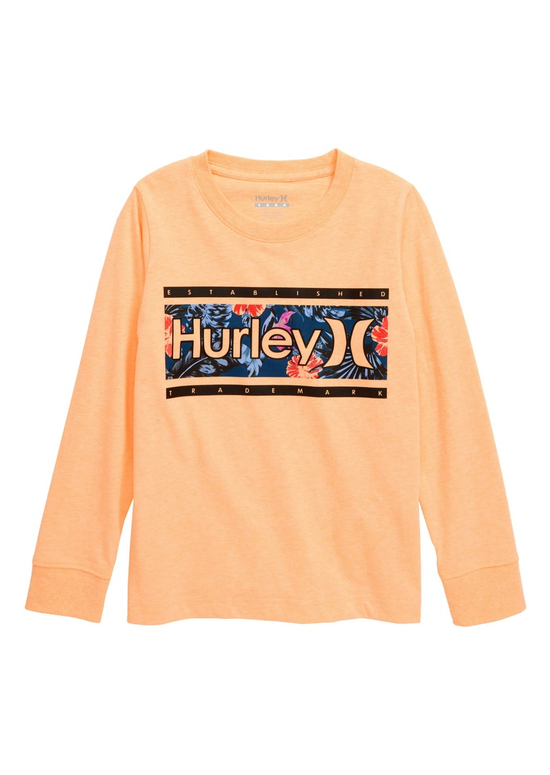 Hurley Graphic Tee (Toddler Boys & Little Boys)