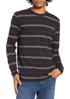 Hurley Harvey Stripe Long Sleeve T-Shirt