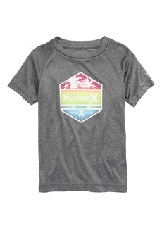 Hurley Hex Logo Dri-FIT Graphic Tee (Toddler & Little Boy)