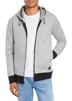 Hurley Hollowknit Hooded Zip Sweatshirt