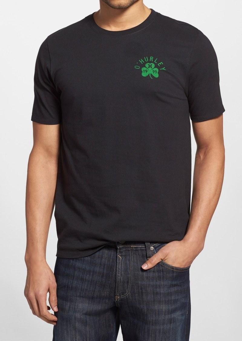 Hurley hurley 39 irish luck 39 graphic t shirt t shirts for Graphic t shirt shop
