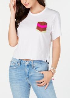 Hurley Juniors' Cropped Pocket T-Shirt