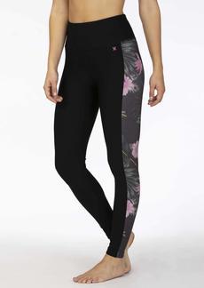 Hurley Junior's Lanai Floral Hybrid Legging  S